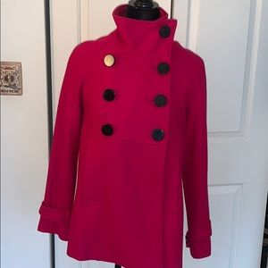 Steve Madden Double Breasted Wool Pea Coat